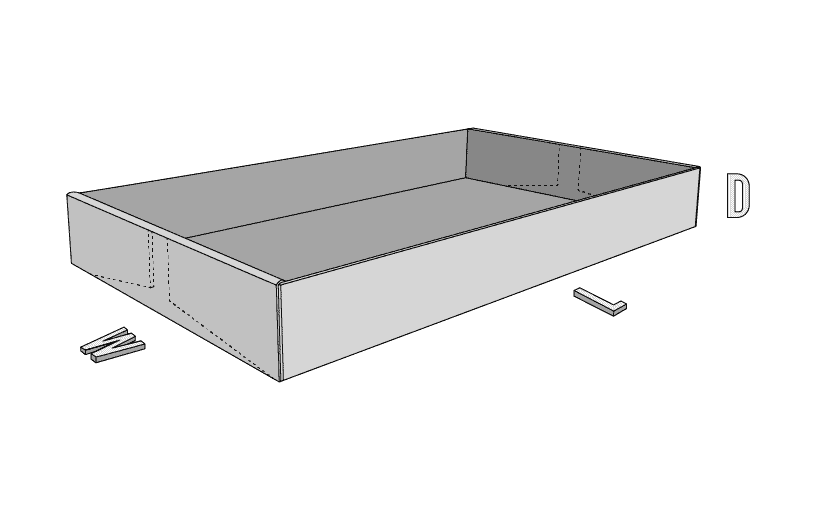 End-Roll Corrugated Tray