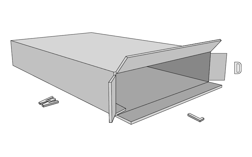 Front Loading Box Style