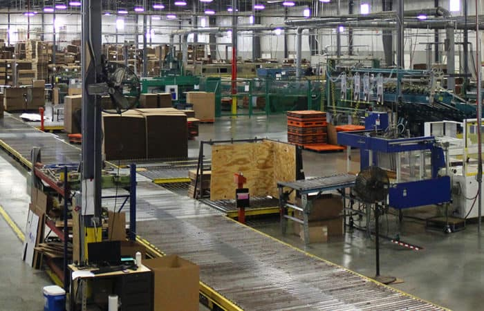 American Box manufacturing facilities