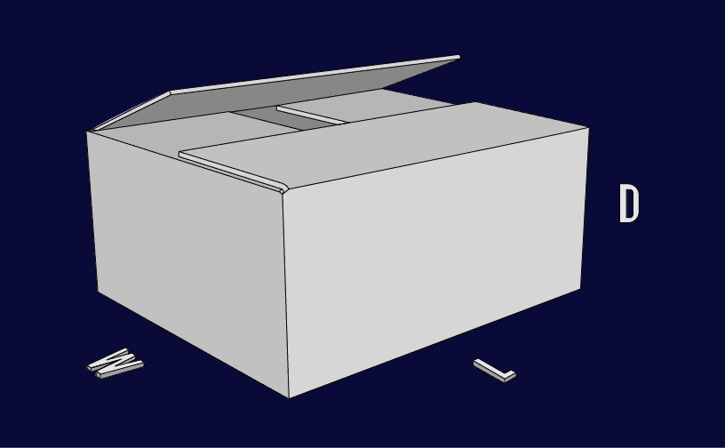 Regular Slotted Container (RSC) Box Style