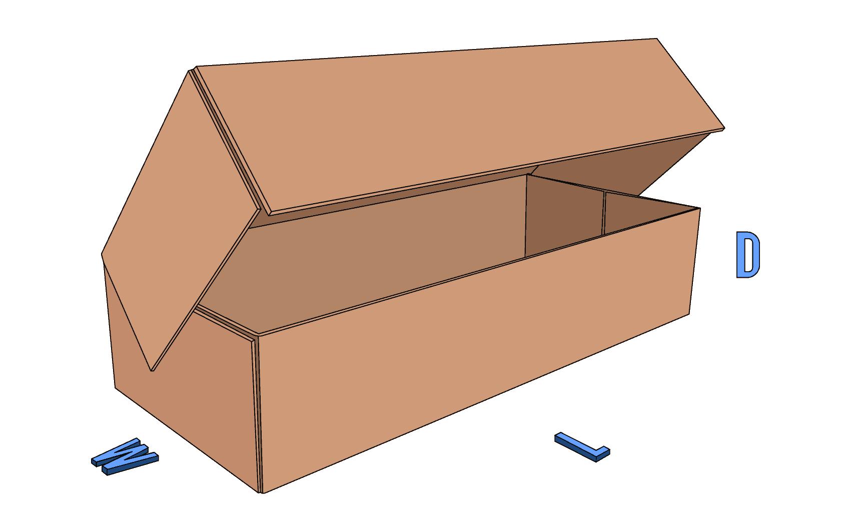 5 Panel Folder (5PF) box style