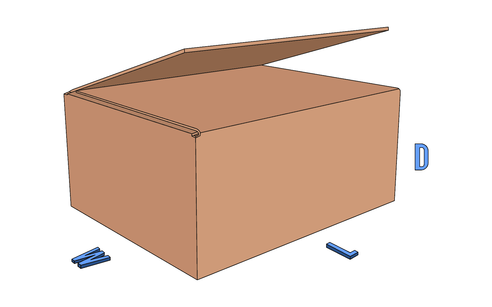 Full Overlap Slotted Container (FOL)