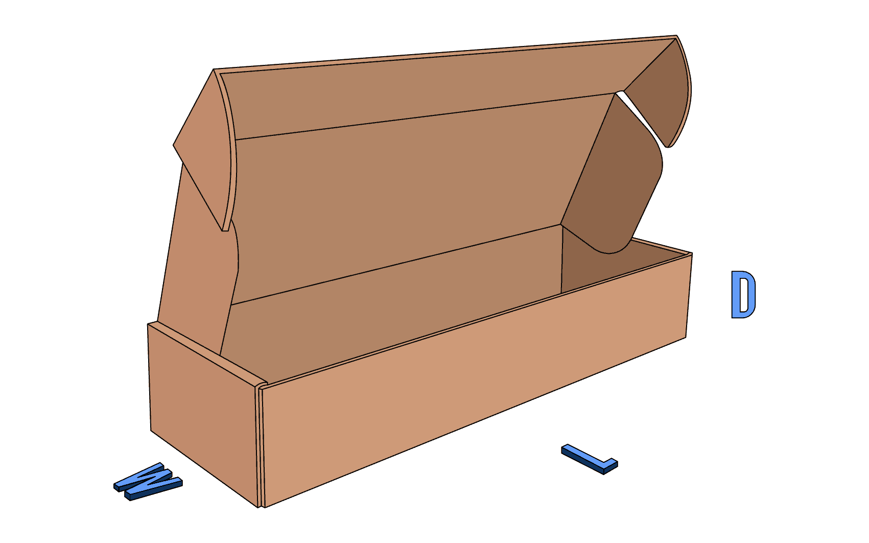 Roll End Tuck Front (RETF)