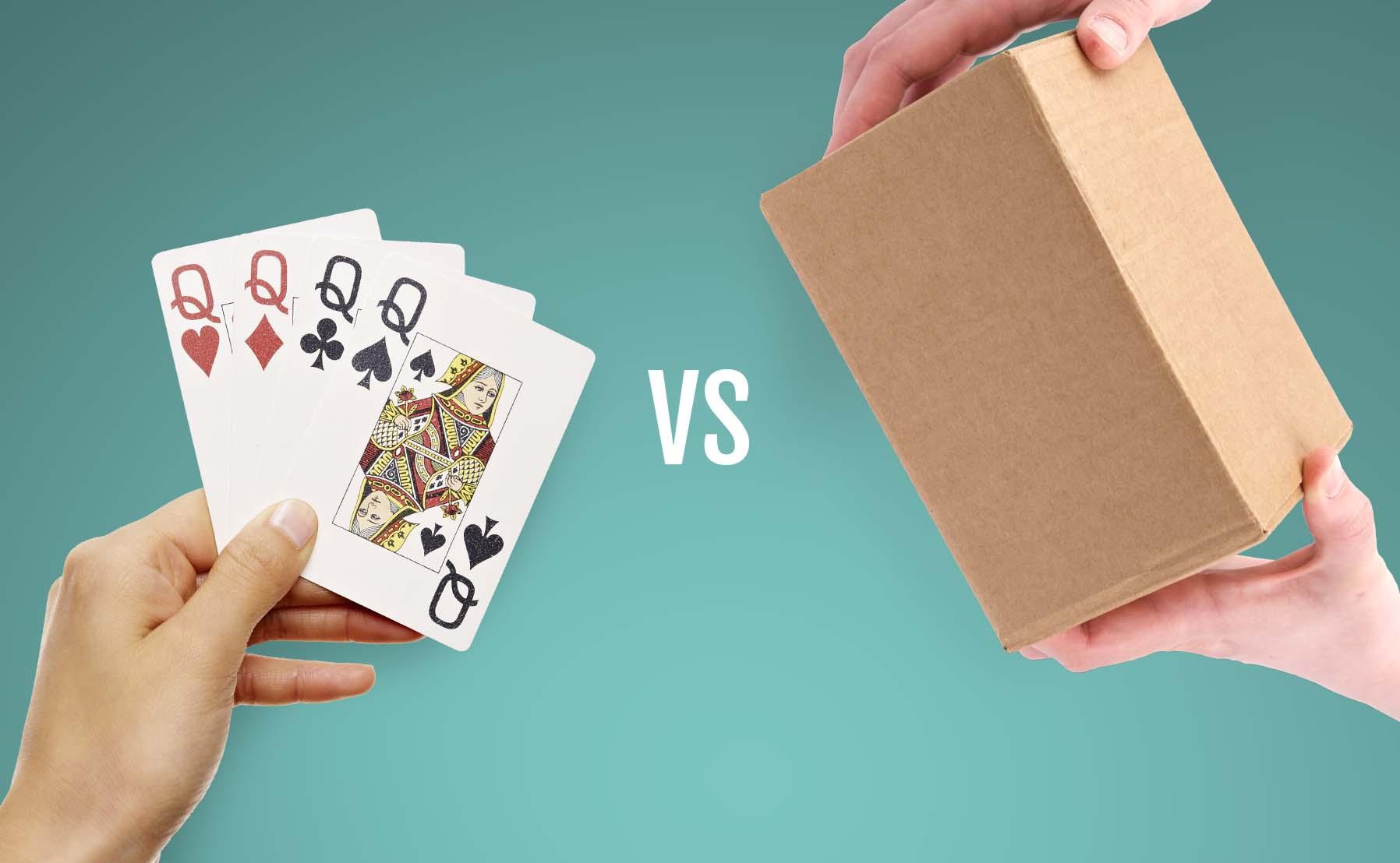 cardboard vs corrugated