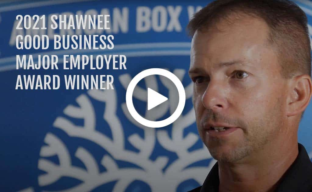 2021 Shawnee good business award