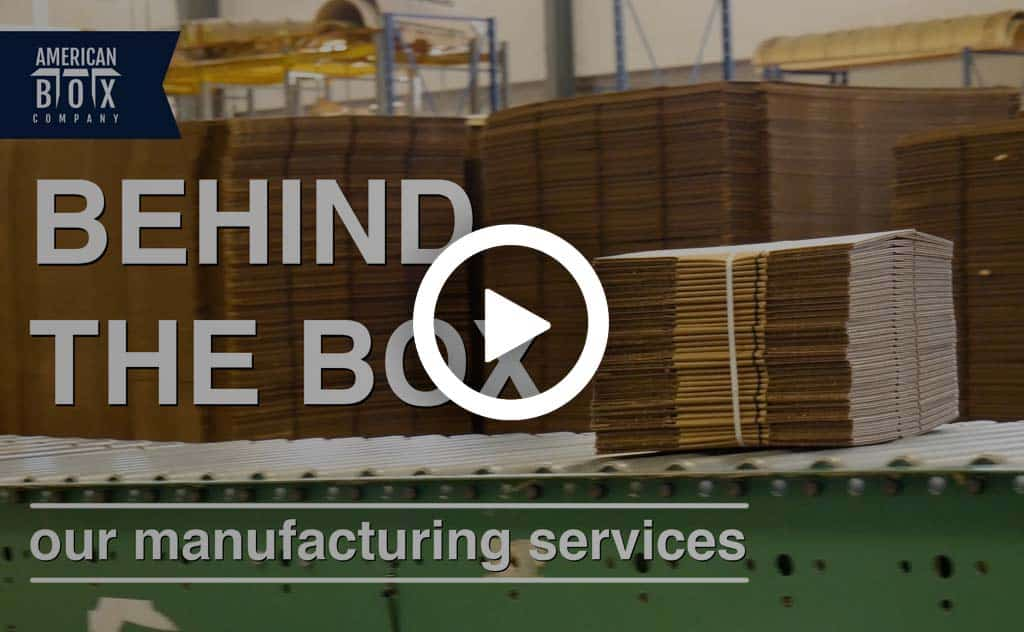 behind the box manufacturing facilities